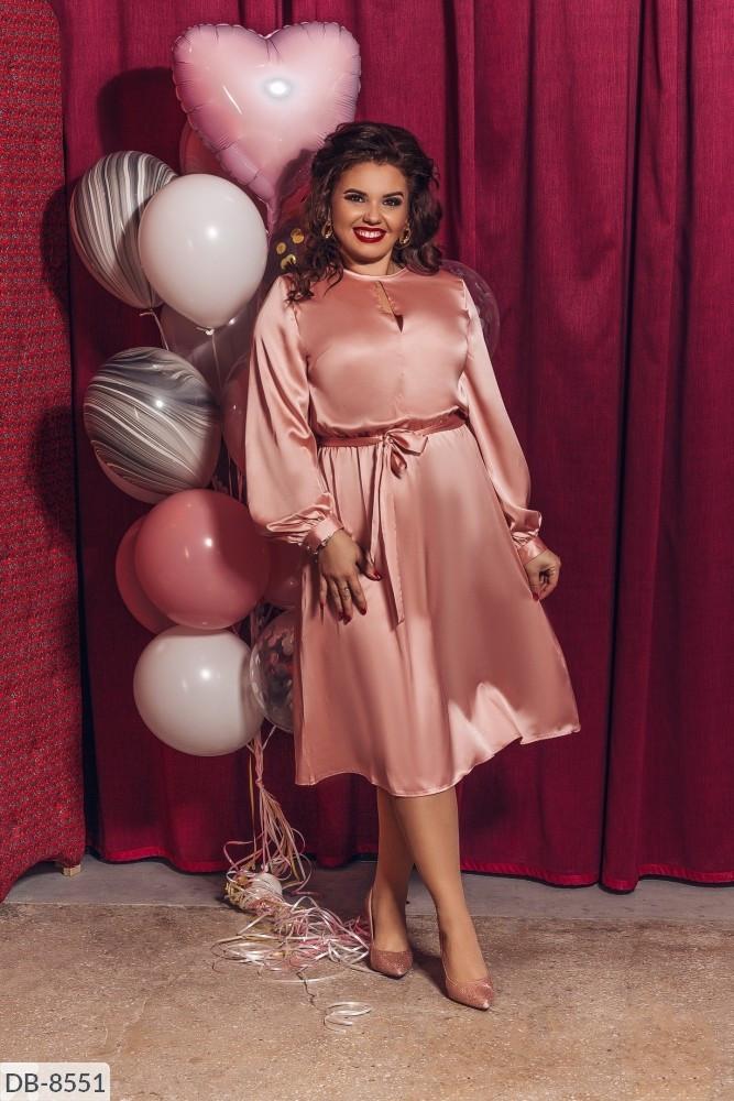 Стильное платье   (размеры 48-58) 0219-70