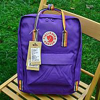 Рюкзак  Fjallraven  Kanken, фиолетового цвета. Стильный городской рюкзак. Реплика. ТОП КАЧЕСТВО!!!, фото 1