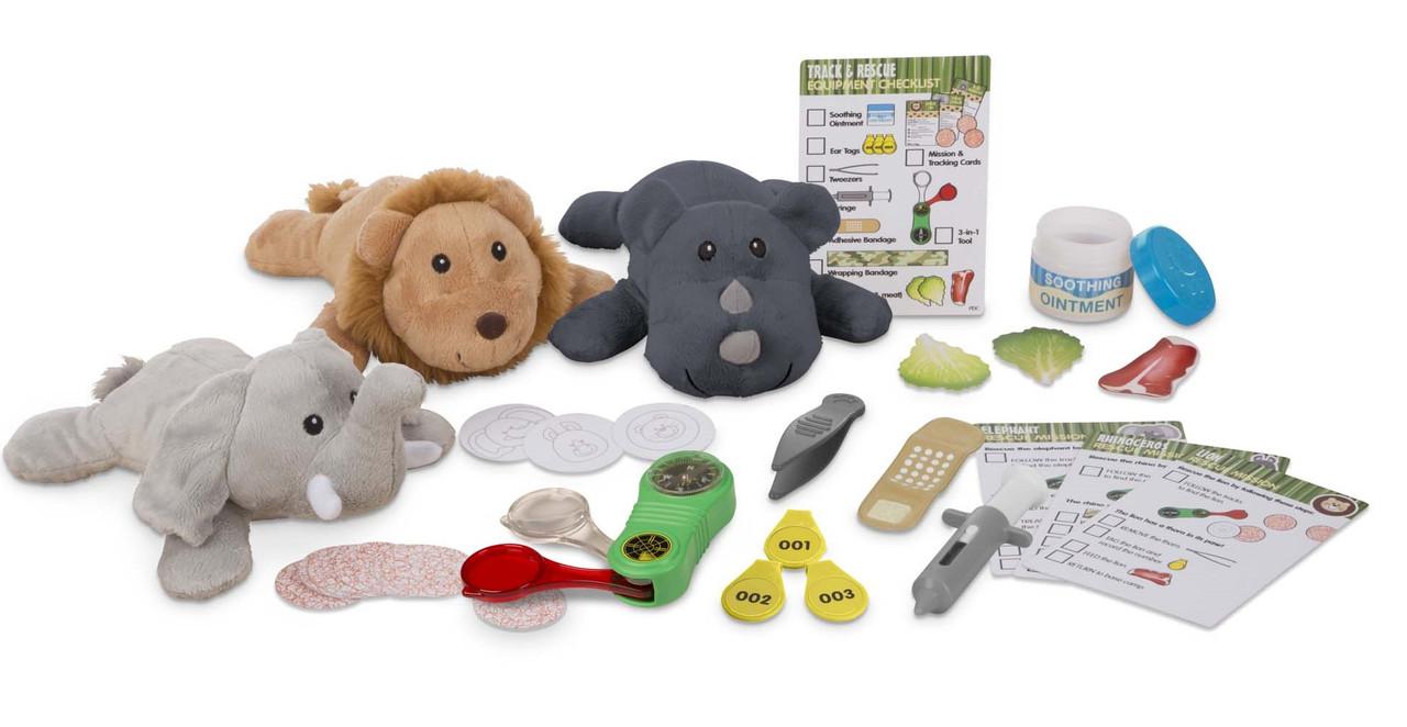 Игровой набор Помощь животным сафари Melissa & Doug (MD8543)