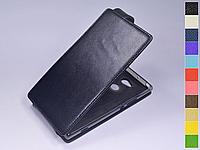 Откидной чехол из натуральной кожи для Sony Xperia XA2 Ultra