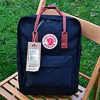 Рюкзак Fjallraven Kanken, синего цвета. Стильный городской рюкзак., фото 1