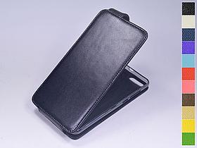 Откидной чехол из натуральной кожи для Xiaomi Mi Note 3