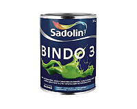 Краска латексная SADOLIN BINDO 3 интерьерная ВW-белая 1л