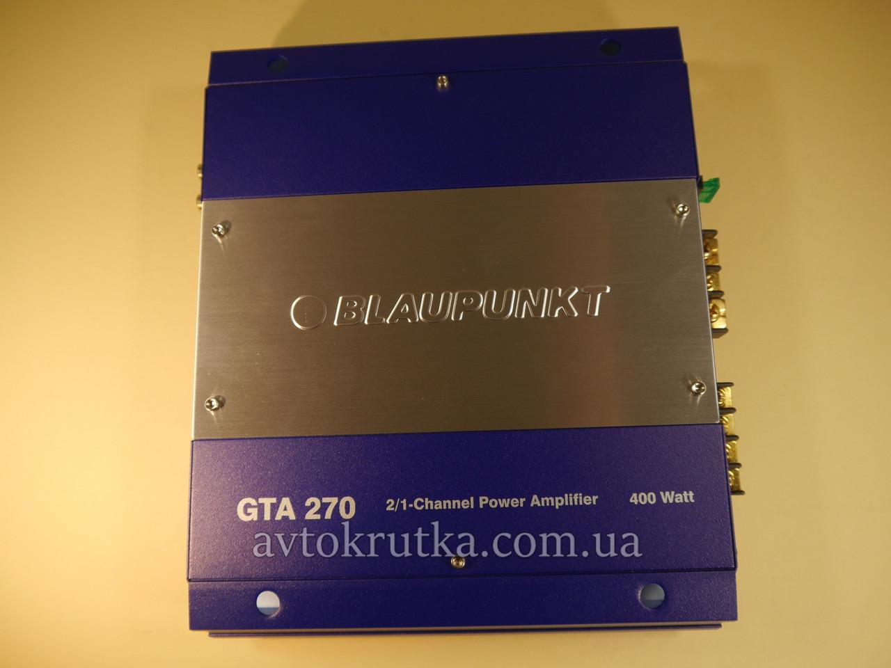 Усилитель Blaupunkt GTA 270
