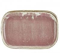 Блюдо прямоугольное 29 x 19.5 см, Terra Porcelain Rose Pink