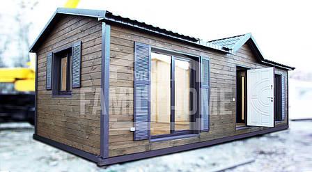 """Мобильный дом """"СИТИ 4-34"""" 33,3м2., на основе цельно-сварного металлического каркаса., фото 2"""