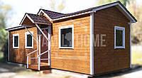 """Мобильный дачный домик """"КАНТРИ 1-36"""" 36м2., на основе цельно-сварного металлического каркаса."""
