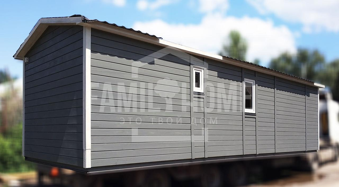 """Мобильный дом """"СИТИ 1-37"""" 37м2., на основе цельно-сварного металлического каркаса."""