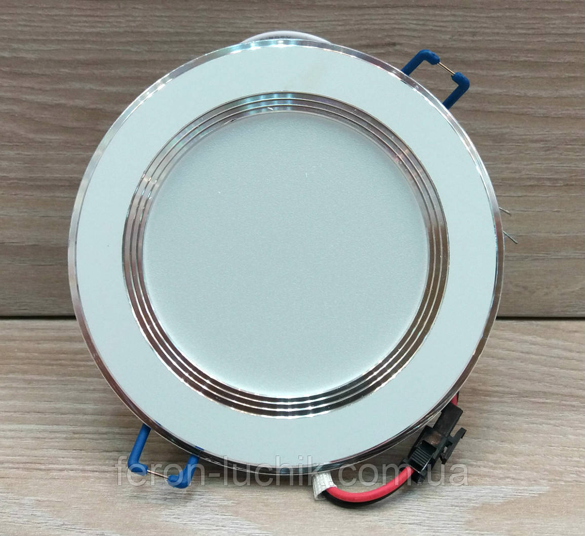 Светильник светодиодный Feron AL527 9W 4000K (LED панель) встраиваемый точечный