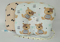 Хлопковая двусторонняя ортопедическая подушка 22 х 26 см