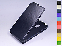 Откидной чехол из натуральной кожи для Xiaomi Redmi 5