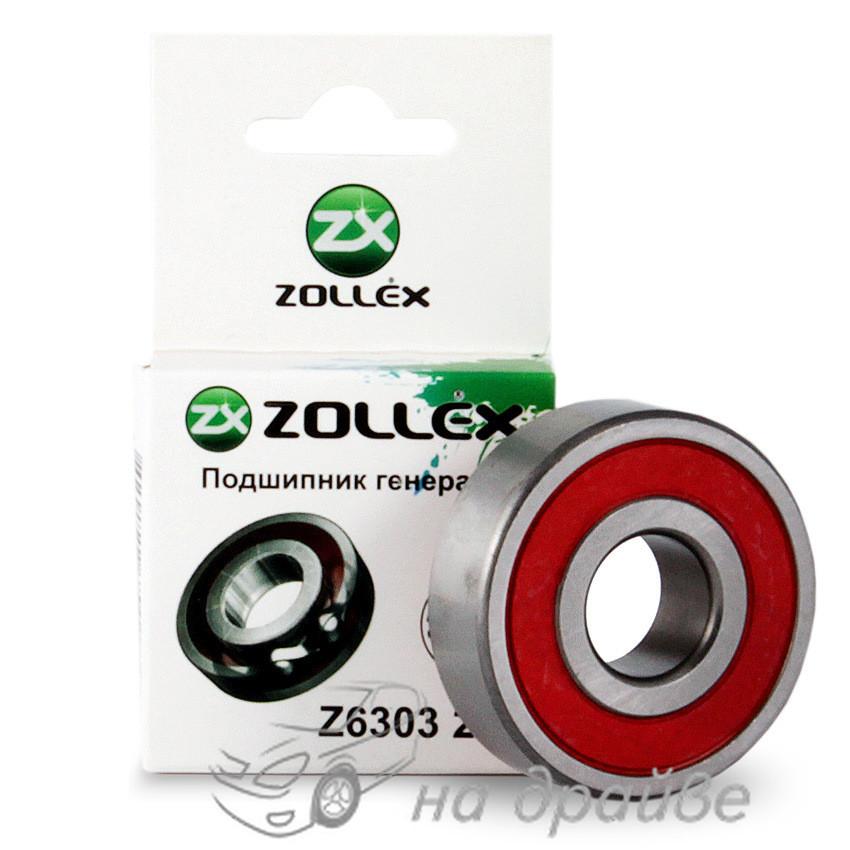 Подшипник генератора ВАЗ 2110 Z6303 2RS Zollex