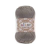 Пряжа Ализе Форевер Alize Forever, цвет №459 серый