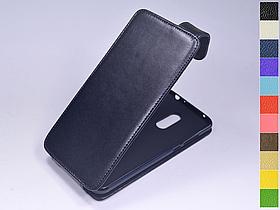 Откидной чехол из натуральной кожи для Xiaomi Redmi 5 Plus