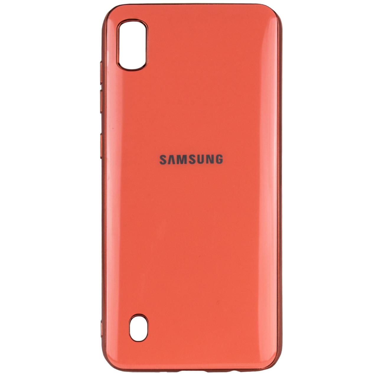 TPU чехол GLOSSY LOGO для Samsung Galaxy A10 (A105F)