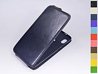 Откидной чехол из натуральной кожи для Xiaomi Redmi Note 5 / Redmi Note 5 Pro