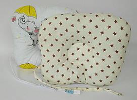Детская ортопедическая подушка со звездочками