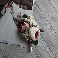 Бутоньєрка для нареченого НОВИНКА 3 . Колір на фото