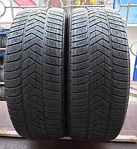 Шины б/у 235/60 R18 Pirelli Scorpion Winter, ЗИМА, пара