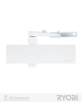 Доводчик дверний RYOBI 1200 D-1200 WHITE BC STD_ARM EN_2/3/4 80кг 1100мм