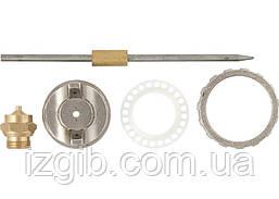 Ремкомплект для краскораспылителя Matrix 4 предмета, сопло 1,2 мм игла+форсунка+зажим