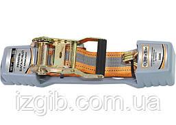 Ремень багажный с крюками Stels, 5 м, храповый механизм