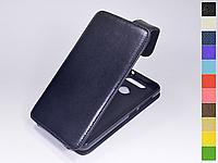 Откидной чехол из натуральной кожи для ZTE Blade V8 Mini