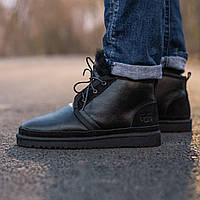"""Угги мужские UGG UGG Neumel Boot """"Black"""" \ Угги Черные \ Чоловічі Уггі Чорні"""