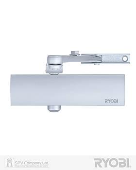 Доводчик двері накладної RYOBI 1200 D-1200 SILVER BC STD_ARM EN_2/3/4 80кг 1100мм