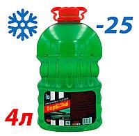 Жидкость стеклоомывателя зимняя -25 4л TOP Gear (аромат Дыня)