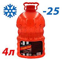Жидкость стеклоомывателя зимняя -25 4л TOP Gear (аромат Bubble Gum)
