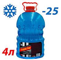 Жидкость стеклоомывателя зимняя -25 4л TOP Gear (аромат Морской бриз)