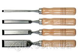 Набор стамесок Sparta 6-12-18-24 мм, плоские