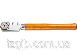 Стеклорез Sparta 6-роликовый с деревянной ручкой Sparta 872235