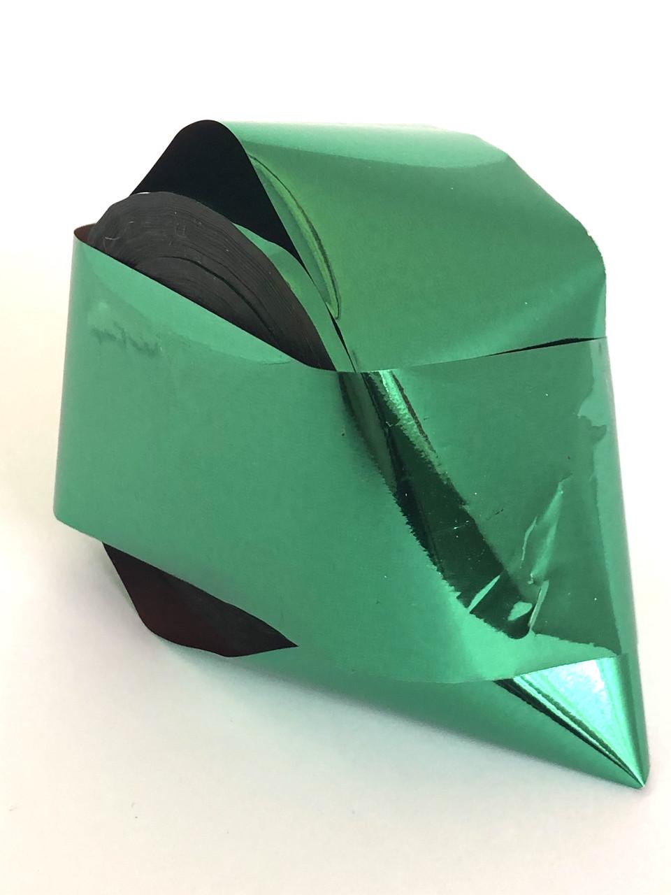 Фольга для кракелюра / литья зеленая 1 м