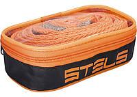 Трос буксировочный Stels 2.5 тонны, 2 крюка, сумка на молнии