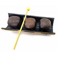 Ксилофон из бамбука и кокоса (30х12х9 см) ( 32672)