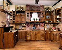 Отдельные фасады для кухни из дерева по индивидуальному дизайн-проекту, фото 1