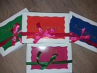 Махровое полотенце с именной вышивкой 40×70 см