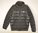 Мужская куртка Nike черная еврозима., фото 2