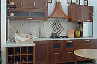 Фасади на кухню із дерева за індивідуальним дизайн-проектом