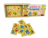 Деревянная игрушка Домино MD 2198 (Домашние животные)