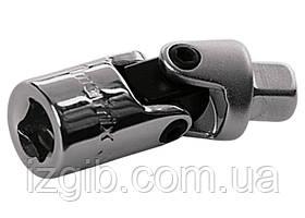 Шарнир карданный с квадратом 1/4 Matrix Master CrV, полированный хром