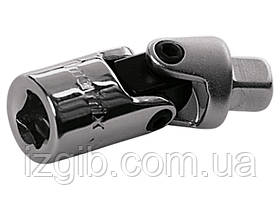 """Шарнир карданный с квадратом 3/8"""" Matrix Master CrV, полированный хром"""