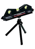 Уровень лазерный Matrix 170x50 мм, три глазка