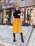 Женская юбка-миди плиссированная (в расцветках), фото 3