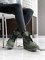 Женские демисезонные ботинки Timberland Khaki 36