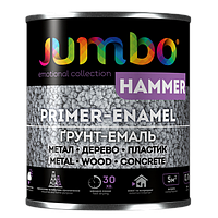 Молотковая эмаль Jumbo HAMMER (5 цветов) 0,7кг