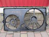 Диффузор основного радиатора для Ford Transit 6 2.0Di, 1C15-8C607-BH, 1C158C607BH, фото 2