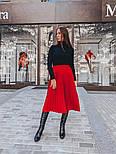 Женская юбка-миди плиссированная (в расцветках), фото 4
